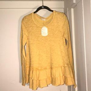 Ruffled blouse ☀️